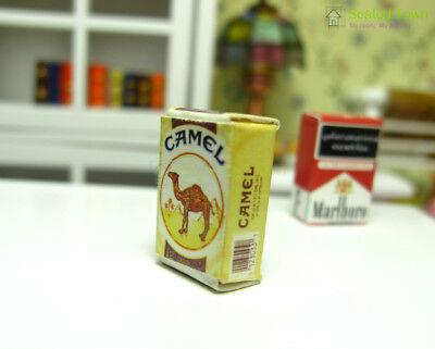 2pcs Dollhouse Miniature 1:12 Cigarette Tobacco Pack Model Bar Room Store Decor 11