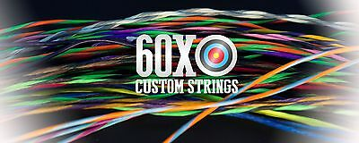 60X Custom Strings /& Cable Set for any 2009 Bowtech Bow Color Choice Bowstrings
