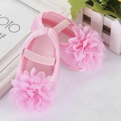 Infant Newborn Baby Girl Princess Crib Shoes Soft Sole Pram Anti-slip Prewalker 2