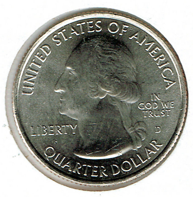 2019-D Brilliant Uncirculated Lowell National Park (MA) 25 Cent Coin! 2