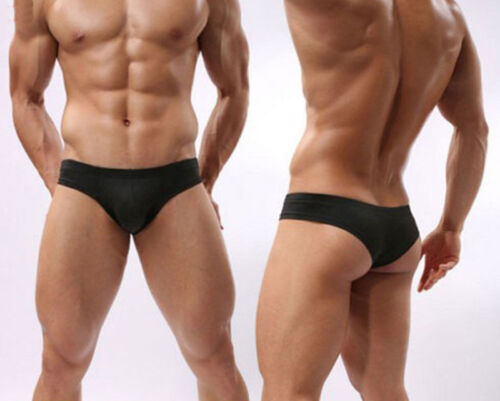 Men/'s Mini Boxer Briefs Underwear Comfy Enhance Bulge Pouch Bikini Boxers Pop