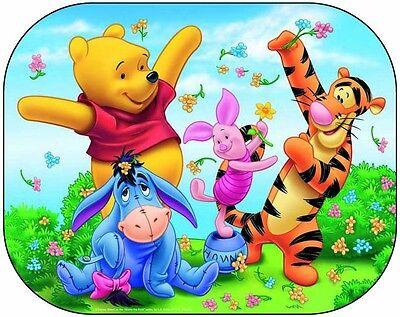 2x Disney Car Sun Shade UV Baby Children Kids Window Visor  Cars Peppa Winnie 5