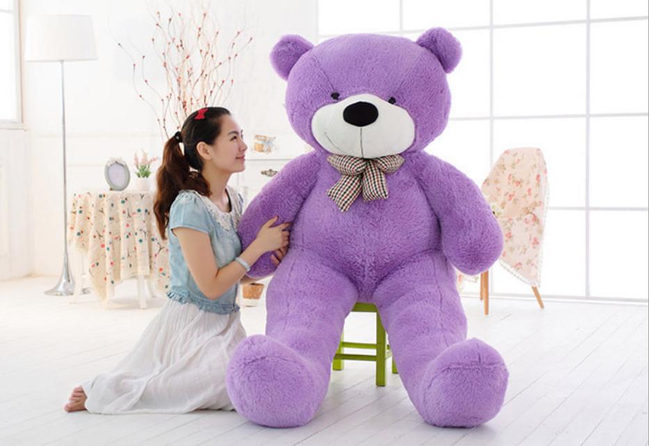Large Teddy Bear XXL Giant Teddy Bears Big Soft Plush Toys Kids Xmas Gift 4