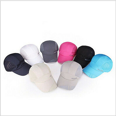 3e84033990b ... Women Sport Baseball Mesh Hat Men Running Visor Quick-drying Cap Summer  Outdoor 2