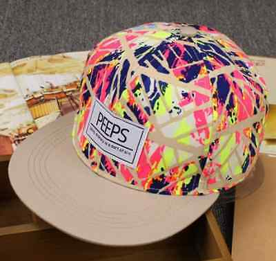 898e928540fb1a 6 of 12 Fashion Men's Snapback Adjustable Baseball Cap Hip Hop hat Cool  Floral Print
