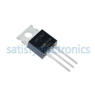 5PCS IRF2807PBF IFR2807 MOSFET TO-220 IC N-CH 75V 82A