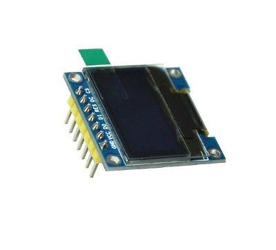 "5 PCS Blue 3-5V 0.96"" SPI Serial 128X64 OLED LCD LED Display Module for Arduino 2"