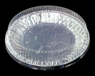 ... 9  Disposable Aluminum Foil Pie Plate Pan 1-5/16  Deep w & 9
