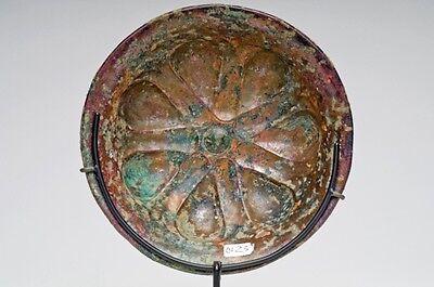 Ca.  6th - 4th  Achaemenid Bronze Mesomphalos 5