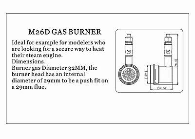 M26D GASBRENNER für Dampfkessel \