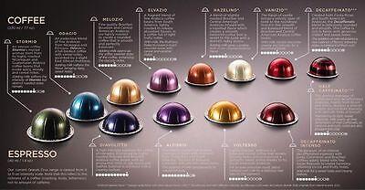 100 new original genuine nespresso vertuoline capsules. Black Bedroom Furniture Sets. Home Design Ideas