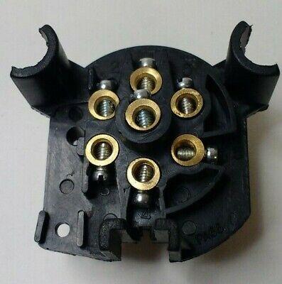 7 Pin Trailer Socket Wiring Plastic 12V 12N Towing Tow Bar Car Van Maypole Mp23B 3
