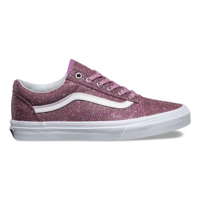 VANS LUREX GLITTER OLD SKOOL Womens Shoes (NEW) ALL SIZES