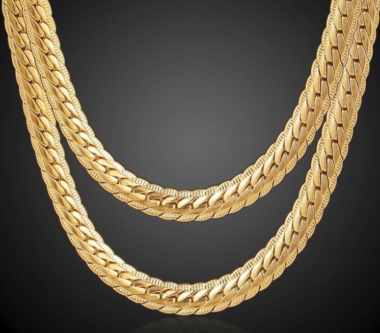 Herren goldkette 18k goldkette