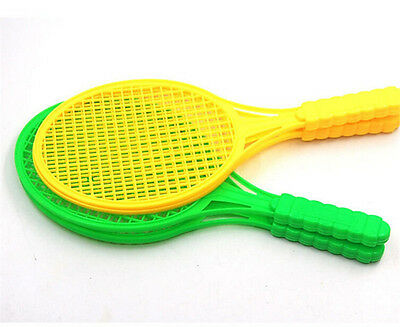 1pair Child Badminton Tennis Racket Baby Sports Bed Toy Educational Toys 。 4