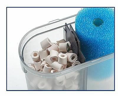 Eden 501 Außenfilter inkl Filtermaterial für Aquarien bis 60 Liter + Geschenk 3