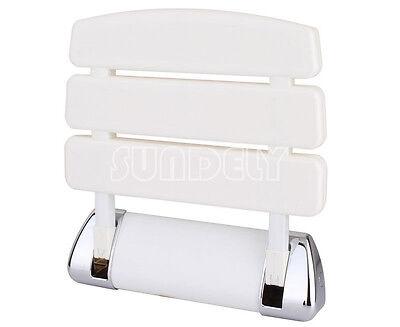 Sundely Wall Mounted Bathroom Fold Up Shower Seat Holds Upto 160kg Picclick Uk