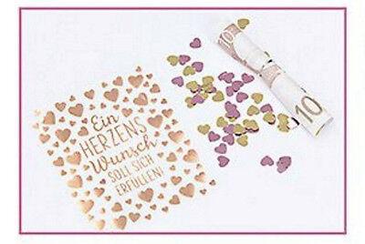 Geldgeschenk aus der Flaschenpost 3er Set Für dich / Herzenswunsch 10266 5