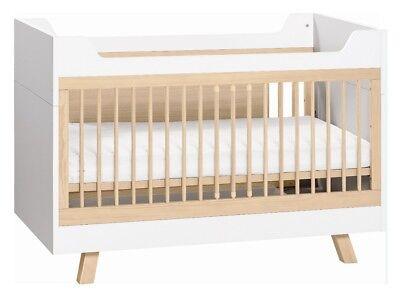 Babyzimmer Kinderzimmer Komplett Calgary Weiss Schrank Kommode Bett