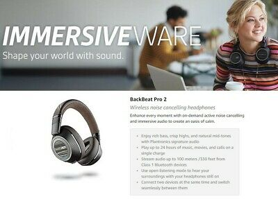 Plantronics BackBeat PRO 2 Wireless Noise Cancelling Headphones 6