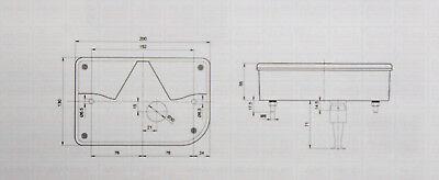 Jokon Rückleuchte System 830 links mit Bajonett Anschluss für PKW Anhänger 12V