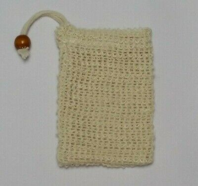 Eco Friendly Natural Sisal Wash Soap Bag Exfoliate Reusable Plastic-Free Shower 6