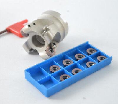 "EMR 6R-50-22-4F// BRP6R-050-4T  2/"" indexable face milling cutter 4F for RPMT1204"