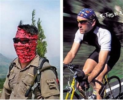 Newset!Unisex Solid Scarf Tube Bandana Head Face Mask Neck Gaiter Snood Headwear 12