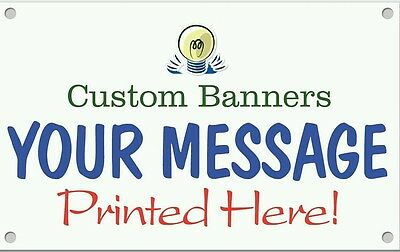 2' x 4' Custom Business Sign Banner High Quality Vinyl