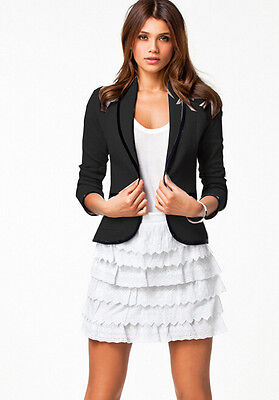 giacca nera corta donna