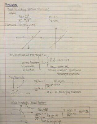 Grade 12 Calculus and Vectors Notes 4