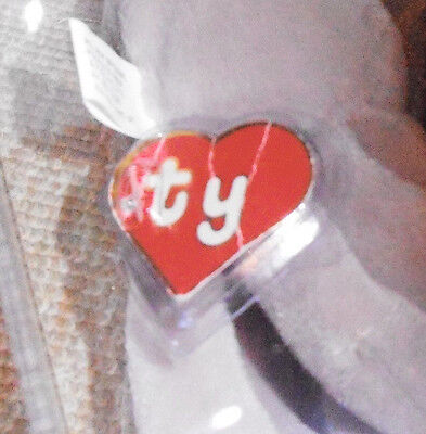 e9d334af1ef ... ULTRA RARE Authenticated Ty 1st gen Hang Tag -Tan Inky Without Mouth Beanie  Baby