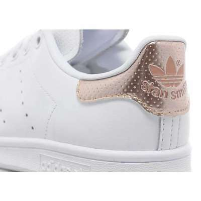 ADIDAS STAN SMITH White & Rose Gold Bb1434, 100% Genuine, All Sizes  Available