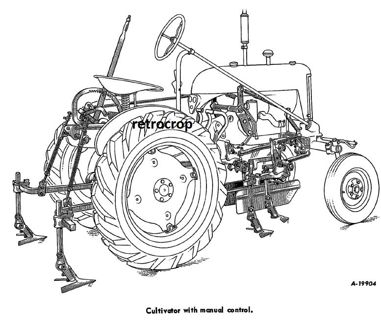 IH INTERNATIONAL HARVESTER Farmall CUB-144 1 Row