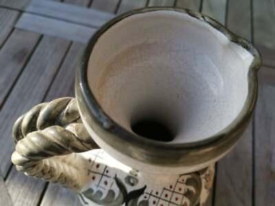 Apotheker - alte, wunderschöne, handbemalte Keramik - Kanne - Schick!!! 6