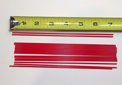 """20 7"""" Replacement Aerosol Spray Can Red Straws Tubes Oil Cleaner Auto LPS WD40 4"""