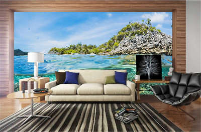 Gloomy Clear Lake 3D Full Wall Mural Photo Wallpaper Printing Home Kids Decor
