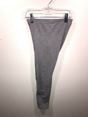 Faded Glory Girls Gray Leggings Size M 7-8 2