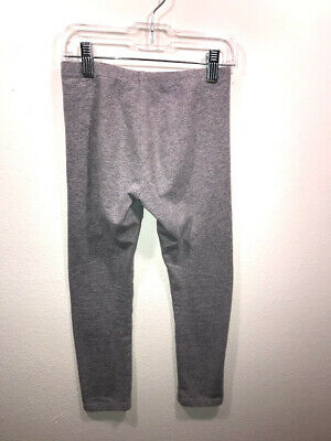 Faded Glory Girls Gray Leggings Size M 7-8 3