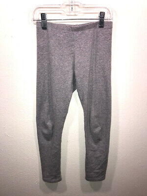 Faded Glory Girls Gray Leggings Size M 7-8 4