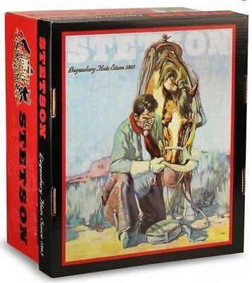 f3bd47db ... Stetson Cowboy Hat 5X Diamond Jim Caribou -No Tax Sell + Hat Brush 5
