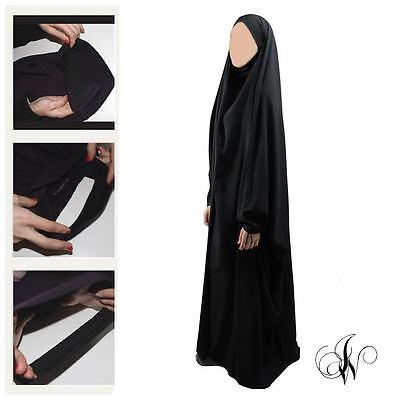 jilbab saoudien wool peach 2