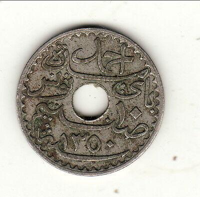 Tunisia 10 Centimes 1931 2