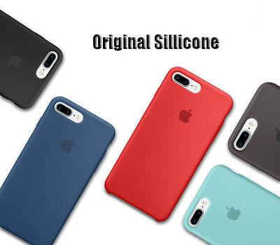 Genuine Original Ultra Thin Silicone Case Cover For Apple iPhone X 6 6s 7 8 Plus 2