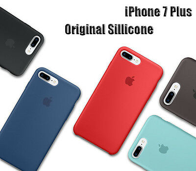 For Apple iphone XS Max XR X 7 8 Plus Case OEM Original Genuine Silicone Case 2