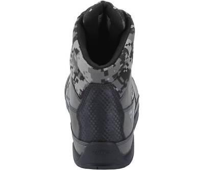 Bates E08811 Marauder Gray Digi Camo Motorcycle Boots Men's size 7.5 7