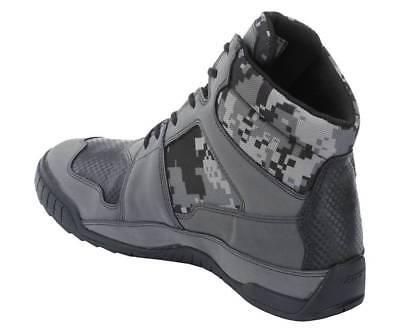 Bates E08811 Marauder Gray Digi Camo Motorcycle Boots Men's size 7.5 6