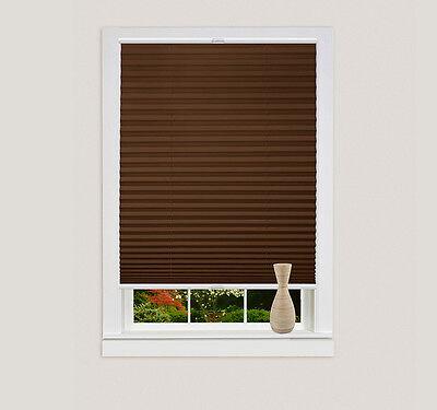Hervorragend KLEMMFIX PLISSEE-ROLLO OHNE Bohren Sichtschutz Jalousie, Fenster ZU62