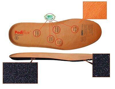 Semelles magnétiques en cuir avec aimants et charbons actifs Pediflux reflex