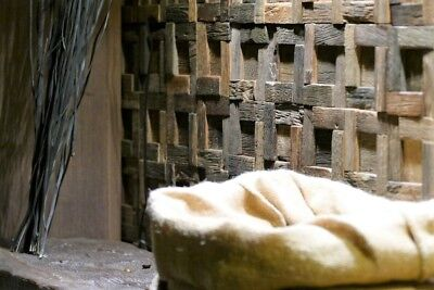 Wood Wall Tile, Wood Wall Decor, Mosaic Tiles, Rustic Tiles, Reclaimed Wood Tile 4